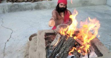 अमित शाह के लिए रामलोक मंदिर में यज्ञ, दिल्ली से पहुंचे शुभचिंतक